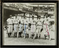 Baseball Collectibles:Photos, Vintage All Star Multi Signed Photograph....
