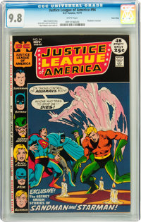 Justice League of America #94 Twin Cities pedigree (DC, 1971) CGC NM/MT 9.8 White pages