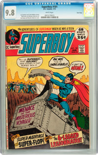 Superboy #181 Twin Cities pedigree (DC, 1972) CGC NM/MT 9.8 White pages