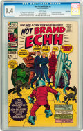 Silver Age (1956-1969):Humor, Not Brand Echh #1 Twin Cities pedigree (Marvel, 1967) CGC NM 9.4 White pages....