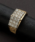 Estate Jewelry:Rings, Gents Diamond & Gold Ring. ...