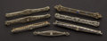 Estate Jewelry:Brooches - Pins, Seven Antique Gold Pins. ... (Total: 7 Items)