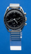 Timepieces:Wristwatch, Omega Speed Master No. 14052-67 SP Steel Chronograph For Repair....