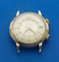 Timepieces:Wristwatch, LeCoultre Gold Top Steel Back Automatic Memovox Alarm Wristwatch....