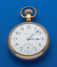 Hamilton 18 Size A.N. Anderson Standard Time 21 Jewel 942 Pocket Watch