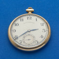 Timepieces:Pocket (post 1900), International Watch Co. 14k Gold Pocket Watch For Black, Starr& Frost. ...