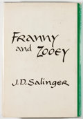 Books:First Editions, J. D. Salinger. Franny and Zooey. Boston: Little, Brown,[1961]. First edition. Octavo. 201 pages. Publisher's c...