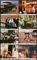 """Movie Posters:Crime, Thunderbolt and Lightfoot (United Artists, 1974). Mini Lobby Card Set of 8 and Photos (12) (8"""" X 10""""). Crime.. ... (Total: 20 Items)"""