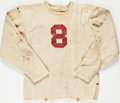 Football Collectibles:Uniforms, 1941 Sam Sharpe Game Worn Alabama Crimson Tide Jersey....