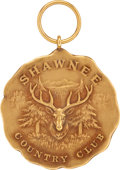 Golf Collectibles:Miscellaneous, 1916 Walter Hagen Shawnee Open Winner's Gold Medal....
