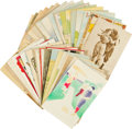 Baseball Collectibles:Others, Early 20th Century Baseball Postcards Lot of 24....
