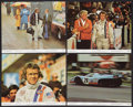"""Movie Posters:Sports, Le Mans (National General, 1971). Mini Lobby Cards (4) and Photos (4) (8"""" X 10""""). Sports.. ... (Total: 8 Items)"""