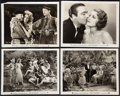 """Movie Posters:Musical, Let's Go Native (Paramount, 1930). Photos (4) (8"""" X 10""""). Musical.. ... (Total: 4 Items)"""