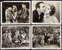 """Let's Go Native (Paramount, 1930). Photos (4) (8"""" X 10""""). Musical. ... (Total: 4 Items)"""