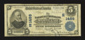 National Bank Notes:Maryland, Baltimore, MD - $5 1902 Plain Back Fr. 598 The National Union Bankof Maryland Ch. # (E)1489. ...