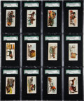 "Non-Sport Cards:Sets, 1888 N90 Duke's ""Vehicles Of The World"" Complete Set (50) - #1 onthe SGC Set Registry! ..."