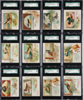 "Non-Sport Cards:Sets, 1888 N40 Allen & Ginter ""Game Birds"" Complete Set (50) - #1 onthe SGC Set Registry! ..."