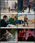 "Movie Posters:Crime, Dirty Harry (Warner Brothers, 1971). Mini Lobby Cards (6) (8"" X10""). Crime.. ... (Total: 6 Items)"
