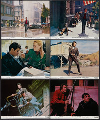 """Dirty Harry (Warner Brothers, 1971). Mini Lobby Cards (6) (8"""" X 10""""). Crime. ... (Total: 6 Items)"""
