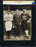 Baseball Collectibles:Photos, 1927 Babe Ruth & Lou Gehrig Oversized Culver ServicePhotograph. ...