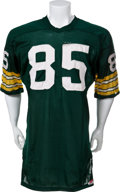 Football Collectibles:Uniforms, Circa 1965-66 Max McGee Game Worn Green Bay Packers Jersey - MEARSA7....
