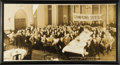 Baseball Collectibles:Photos, 1927 Oakland Oaks Pacific Coast League Banquet Panoramic Photograph....