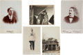 Autographs:Others, 1890's-1910's Joe Tinker Photograph Lot of 5 with Signed Image....