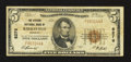 National Bank Notes:Missouri, Kirksville, MO - $5 1929 Ty. 1 The Citizens NB Ch. # 8276. ...