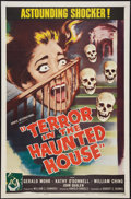 """Movie Posters:Horror, Terror in the Haunted House (Howco, 1959). One Sheet (27"""" X 41""""). Horror.. ..."""