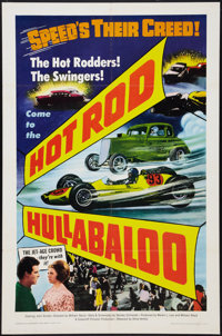 """Hot Rod Hullabaloo (Allied Artists, 1966). One Sheet (27"""" X 41""""). Action"""
