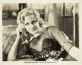 """Movie Posters:Crime, Thelma Todd in The Maltese Falcon (Warner Brothers, 1931). Photo(8"""" X 10"""").. ..."""