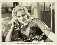 """Thelma Todd in The Maltese Falcon (Warner Brothers, 1931). Photo (8"""" X 10"""")"""