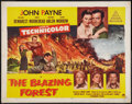 "Movie Posters:Adventure, The Blazing Forest and Other Lot (Paramount, 1952). Half Sheets (2)(22"" X 28""). Adventure.. ... (Total: 2 Items)"
