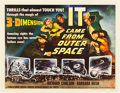 "Movie Posters:Science Fiction, It Came from Outer Space (Universal International, 1953). Half Sheet (22"" X 28"") 3-D Style A.. ..."