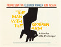"""Movie Posters:Drama, The Man with the Golden Arm (United Artists, 1955). Half Sheet (22""""X 28"""") Style A.. ..."""