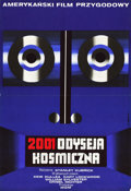 """Movie Posters:Science Fiction, 2001: A Space Odyssey (MGM, 1973). Polish Poster (22.75"""" X 33.5"""")....."""