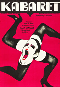 "Cabaret (Allied Artists, 1973). Polish Poster (22.75"" X 33"")"