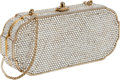 Luxury Accessories:Bags, Judith Leiber Full Bead Early Design Minaudiere Evening Bag. ...