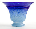Art Glass:Schneider, SCHNEIDER ART DECO GLASS VASE, circa 1920. Marks: Schneider. 10-1/2 inches high (26.7 cm). ...