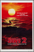 """Movie Posters:Horror, Jaws 2 (Universal, 1978). One Sheet (27"""" X 41"""") Advance Style B. Horror.. ..."""