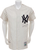Autographs:Jerseys, Early 1990's Mickey Mantle No. 7 Signed Jersey....