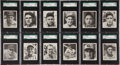 Baseball Cards:Sets, 1936 R322 Goudey Baseball Complete Set (25) - #1 on the SGC set Registry! ...