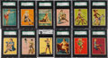 "Non-Sport Cards:Sets, 1944 R59 Gum Inc. ""American Beauties"" Graded Complete Set (24). ..."
