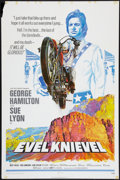 "Movie Posters:Action, Evel Knievel and Others Lot (Fanfare, 1971). One Sheet (2) (27"" X41"") and One (30"" X 40""). Action.. ... (Total: 3 Items)"