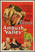 """Movie Posters:Western, Ambush Valley (Reliable, 1936). One Sheet (27"""" X 41""""). Western.. ..."""
