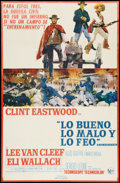 """Movie Posters:Western, The Good, the Bad and the Ugly (United Artists, 1968). Spanish One Sheet (27"""" X 41""""). Western.. ..."""