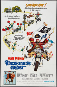 """Blackbeard's Ghost and Other Lot (Buena Vista, 1968). One Sheets (2) (27"""" X 41""""). Comedy. ... (Total: 2 Items)"""