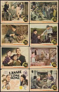 """Lassie Come Home (MGM, 1943). Lobby Card Set of 8 (11"""" X 14""""). Adventure. ... (Total: 8 Items)"""