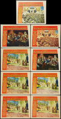 """Movie Posters:Drama, The Ten Commandments (Paramount, 1956). Lobby Cards (9) (11"""" X 14""""). Drama.. ... (Total: 9 Items)"""
