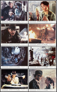 """Raiders of the Lost Ark (Paramount, 1981). Mini Lobby Card Set of 8 (8"""" X 10""""). Adventure. ... (Total: 8 Items..."""